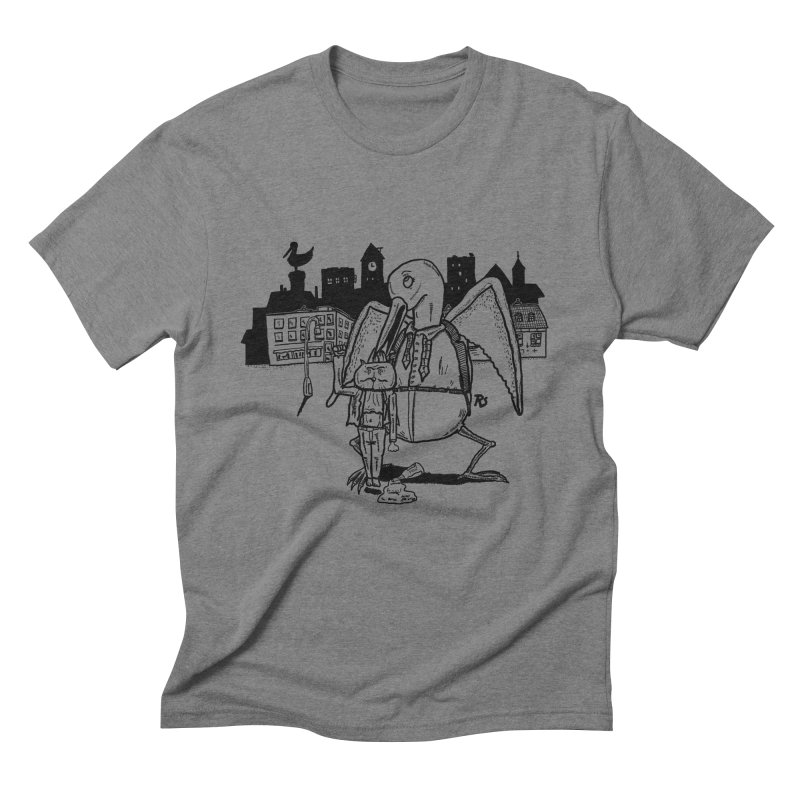 The Night out (Black) Men's Triblend T-Shirt by Sigart's Shop
