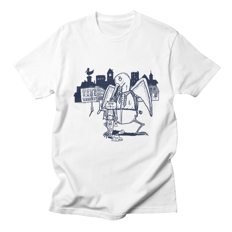 The Night out (BLUE) Men's T-shirt by Sigart's Shop