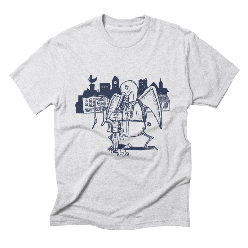 The Night out (BLUE) Men's Triblend T-shirt by Sigart's Shop