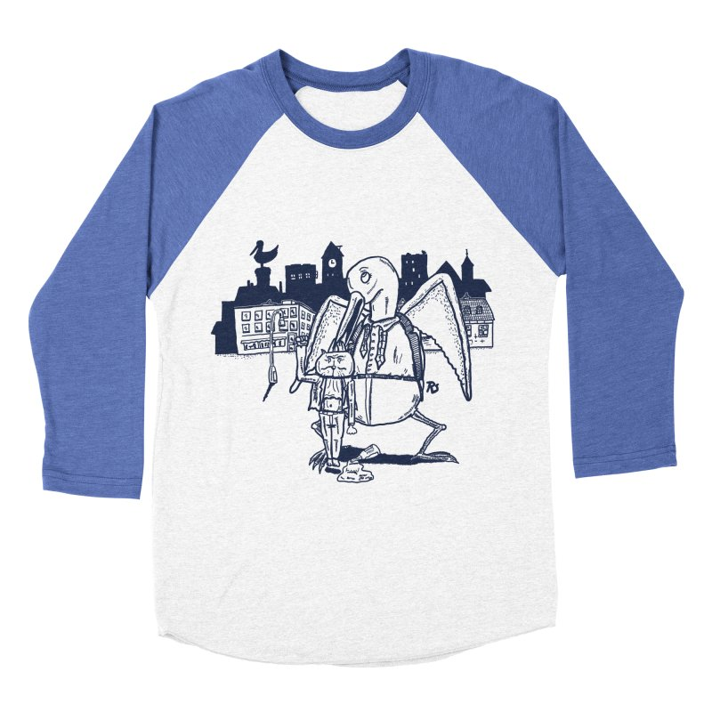 The Night out (BLUE) Men's Baseball Triblend T-Shirt by Sigart's Shop