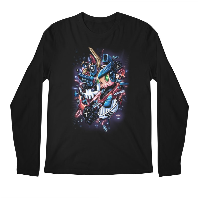 TEQ 63  Quiccs X Sig Men's Longsleeve T-Shirt by Sigmund Torre