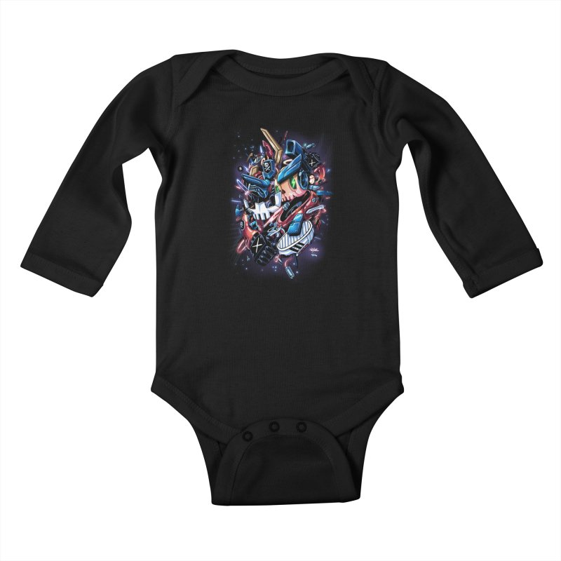 TEQ 63  Quiccs X Sig Kids Baby Longsleeve Bodysuit by Sigmund Torre
