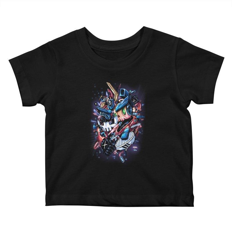 TEQ 63  Quiccs X Sig Kids Baby T-Shirt by Sigmund Torre