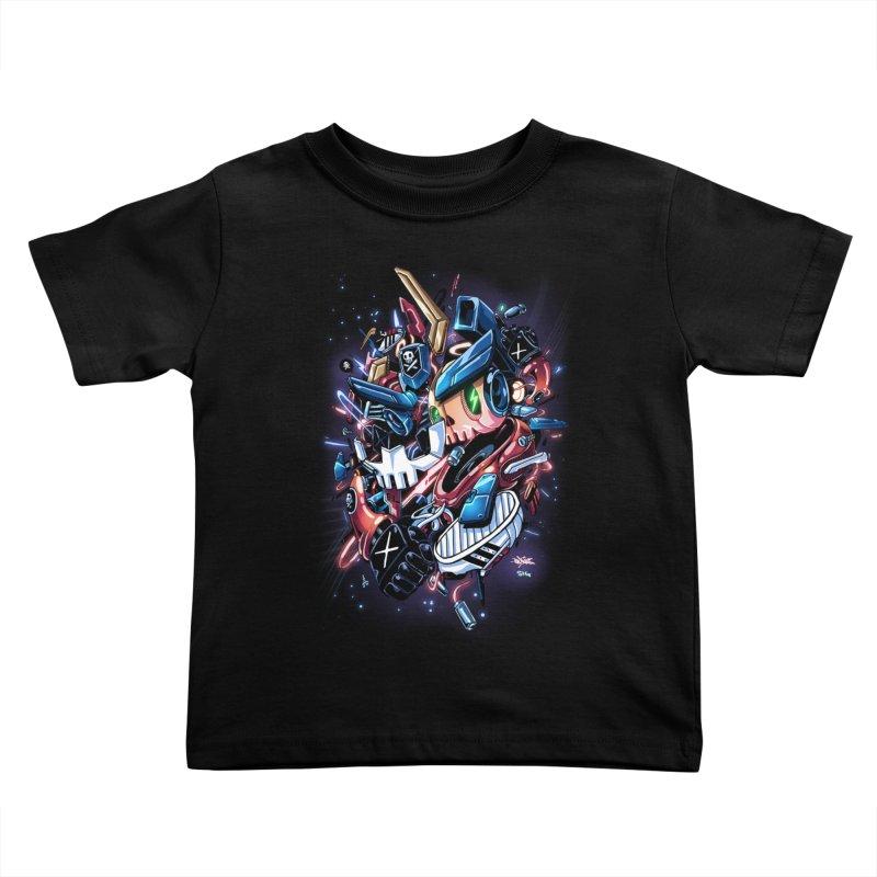 TEQ 63  Quiccs X Sig Kids Toddler T-Shirt by Sigmund Torre