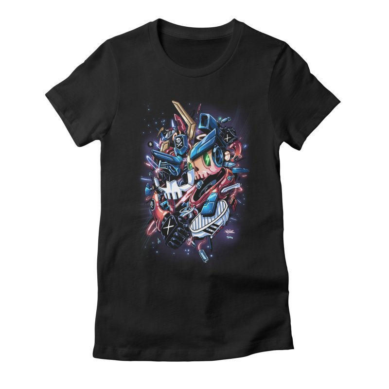 TEQ 63  Quiccs X Sig Women's Fitted T-Shirt by Sigmund Torre