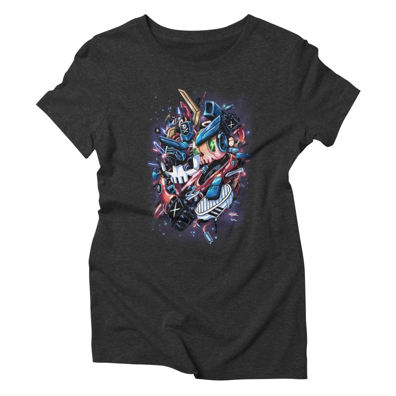 TEQ 63  Quiccs X Sig Women's Triblend T-shirt by Sigmund Torre