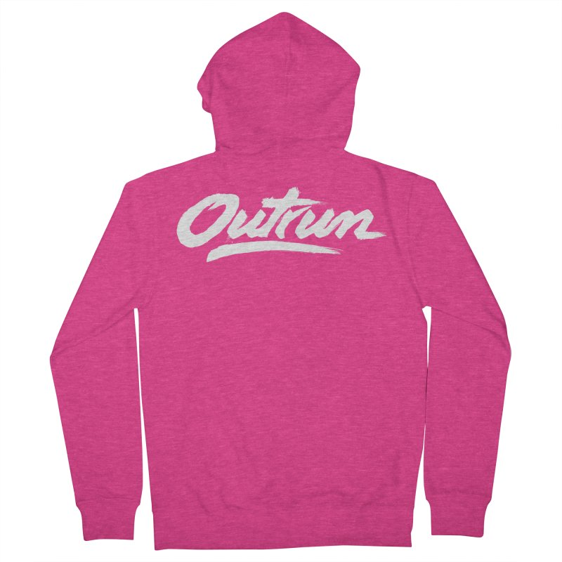 Outrun Women's Zip-Up Hoody by Signalnoise Threadless Store