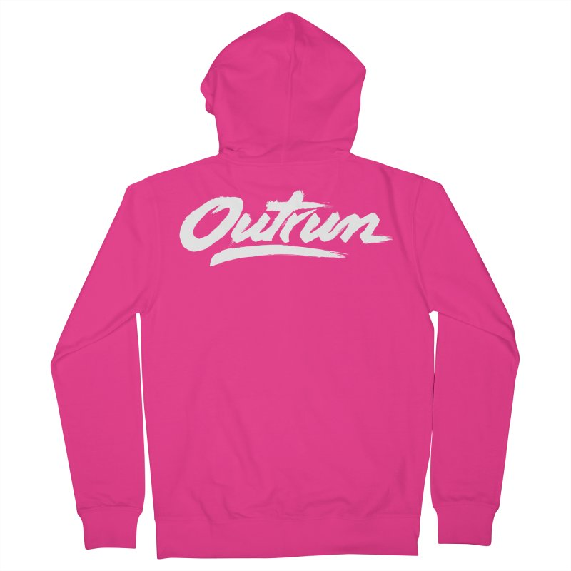 Outrun Men's Zip-Up Hoody by Signalnoise Threadless Store