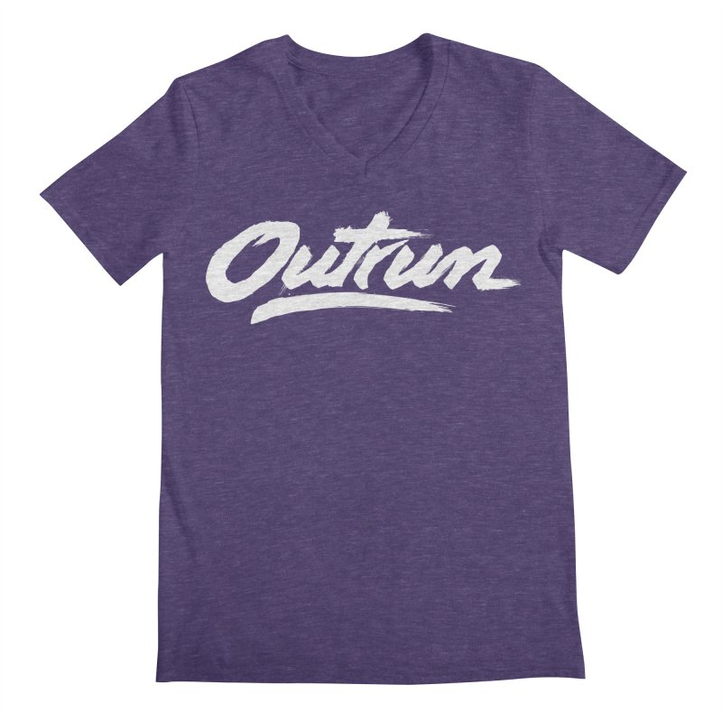 Outrun Men's V-Neck by Signalnoise Threadless Store