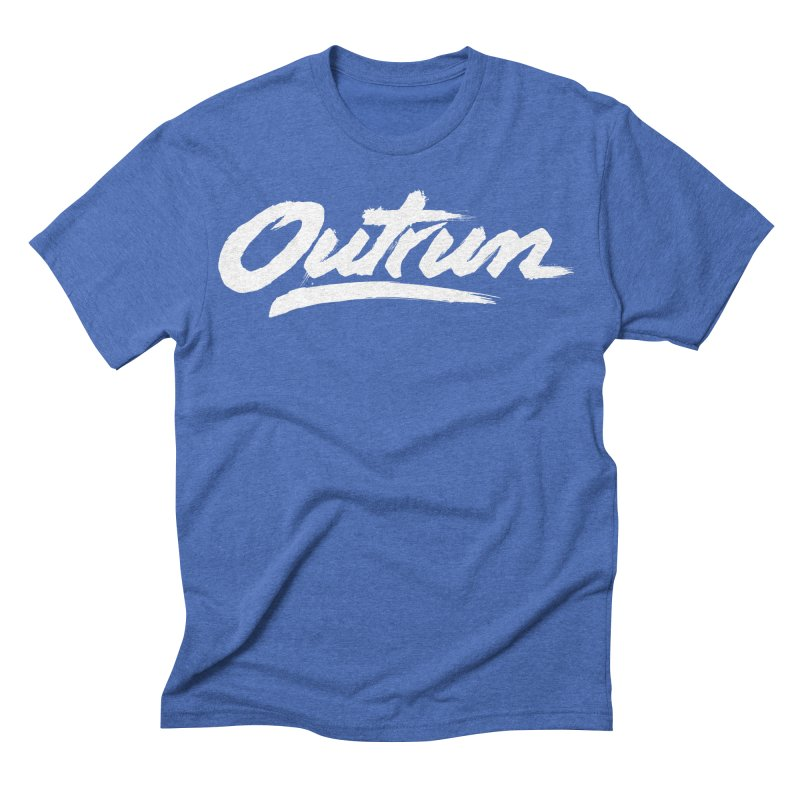 Outrun Men's Triblend T-shirt by Signalnoise Threadless Store