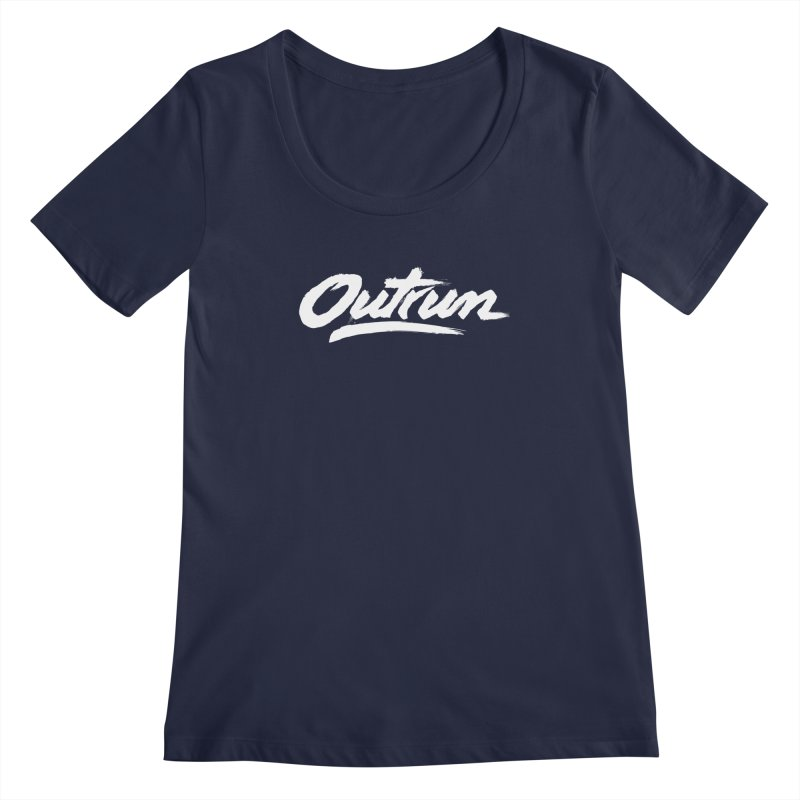 Outrun Women's Scoopneck by Signalnoise Threadless Store