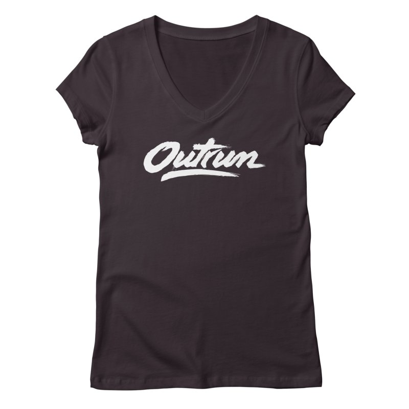 Outrun Women's V-Neck by Signalnoise Threadless Store