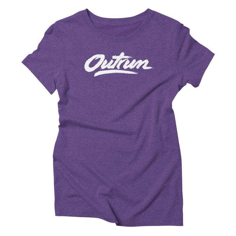Outrun Women's Triblend T-Shirt by Signalnoise Threadless Store