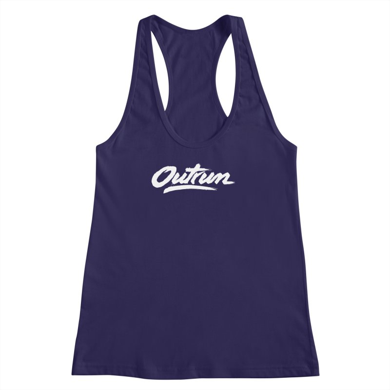 Outrun Women's Racerback Tank by Signalnoise Threadless Store