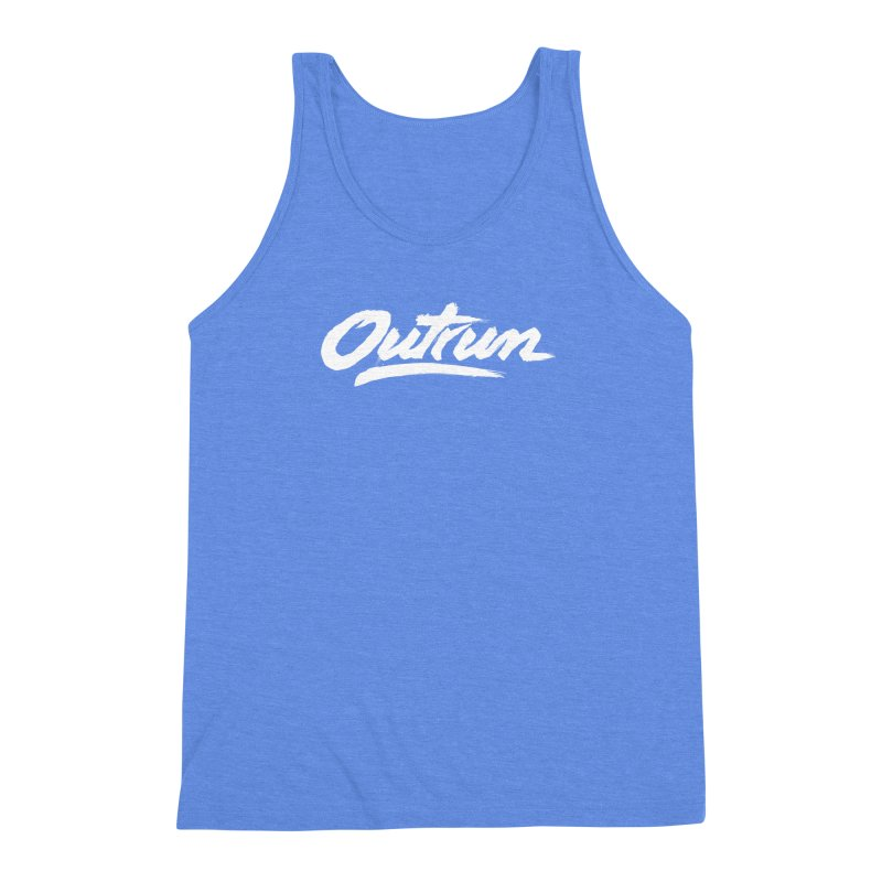 Outrun Men's Triblend Tank by Signalnoise Threadless Store