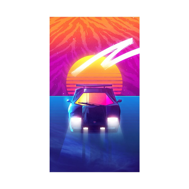 Countach Sunset by Signalnoise Threadless Store