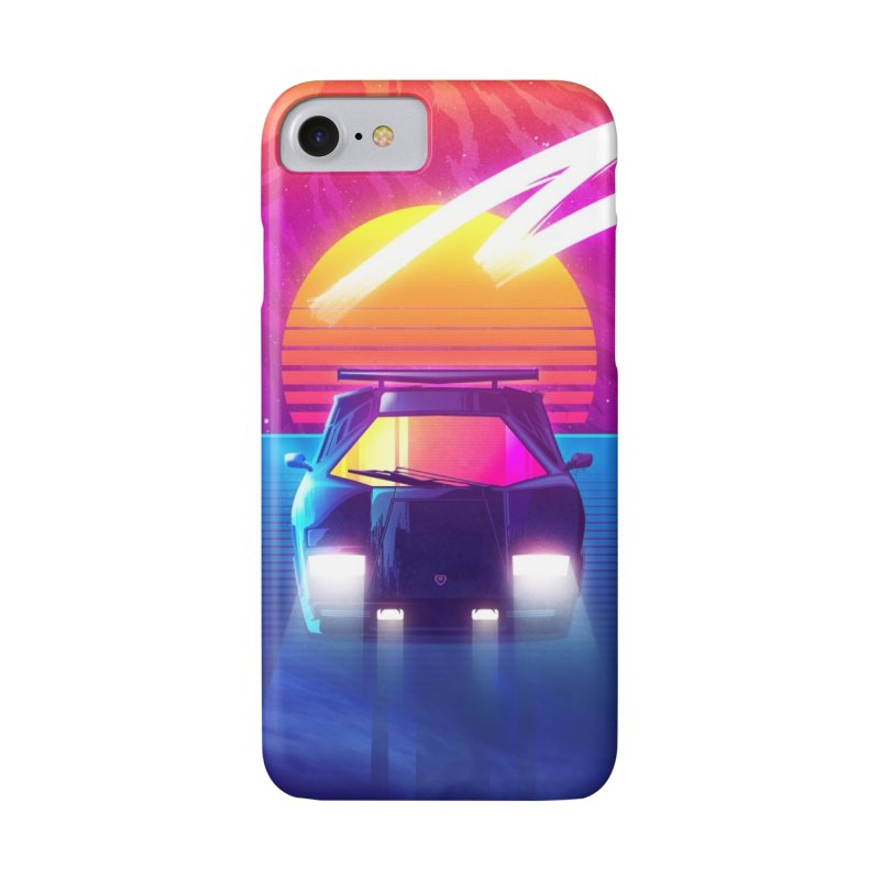 Countach Sunset Accessories Phone Case by Signalnoise Threadless Store