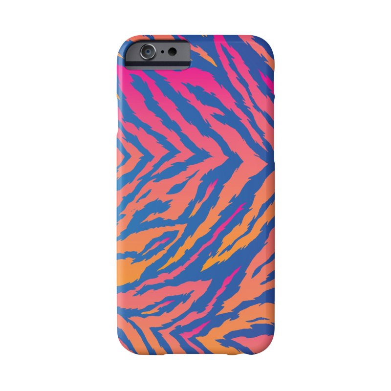 SN Zebra: Pink Accessories Phone Case by Signalnoise Threadless Store