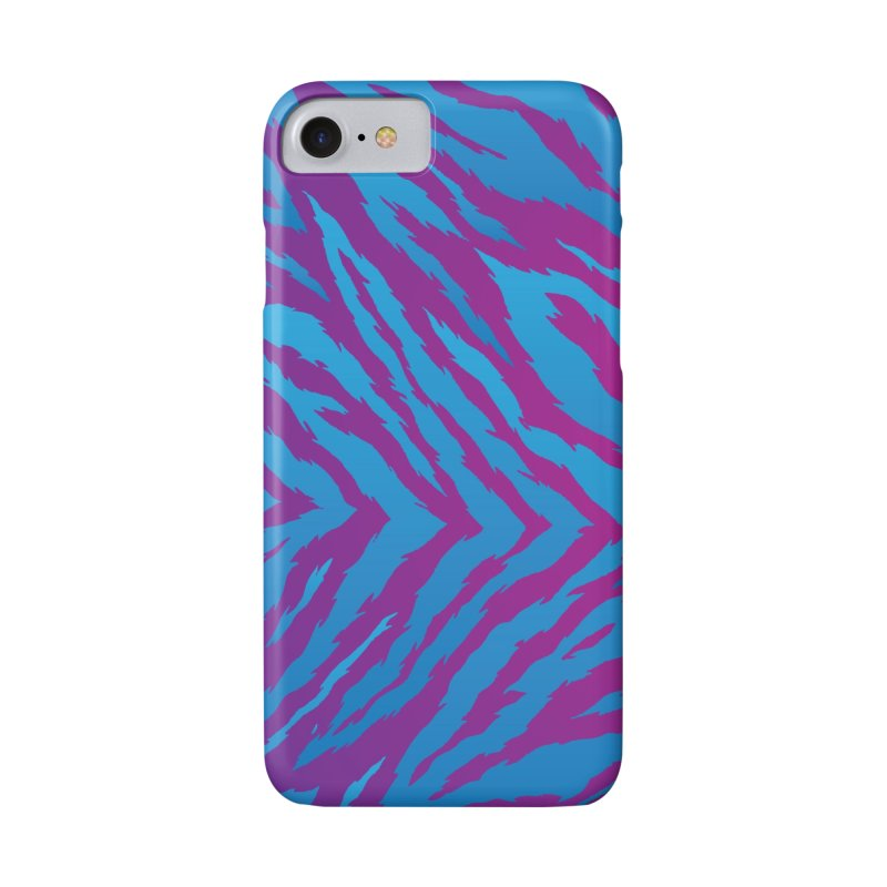 SN Zebra: Purple Accessories Phone Case by Signalnoise Threadless Store