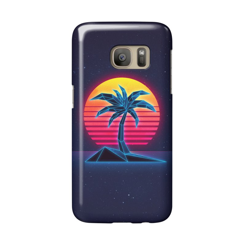 Digital Paradise in Galaxy S7 Phone Case Slim by Signalnoise Threadless Store