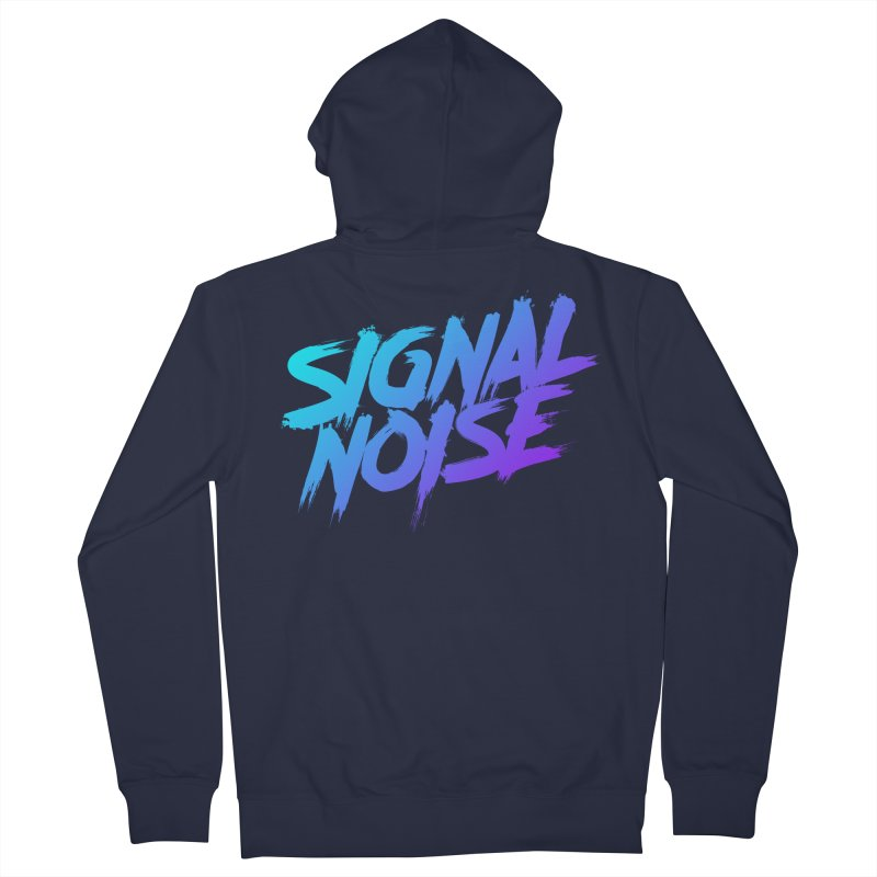 Signalnoise Rocker Blue Women's Zip-Up Hoody by Signalnoise Threadless Store