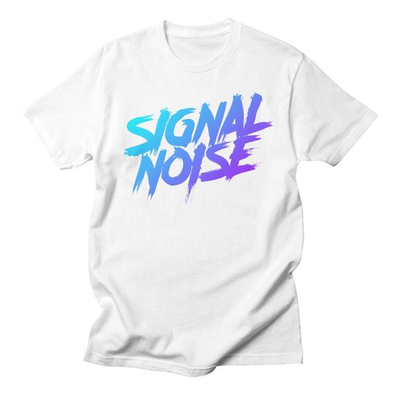 Signalnoise Rocker Blue Men's T-Shirt by Signalnoise Threadless Store