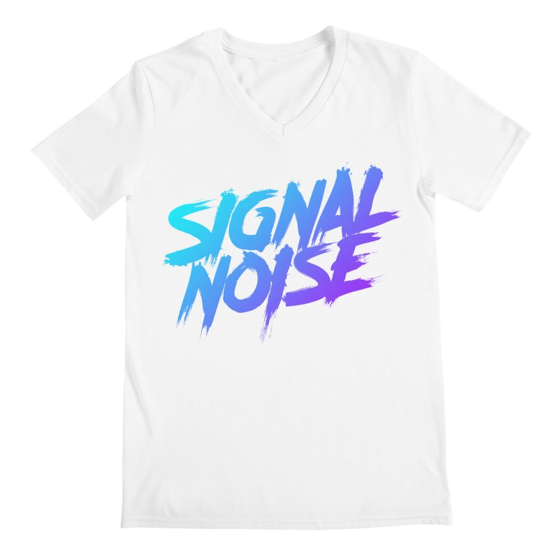 Signalnoise Rocker Blue Men's V-Neck by Signalnoise Threadless Store