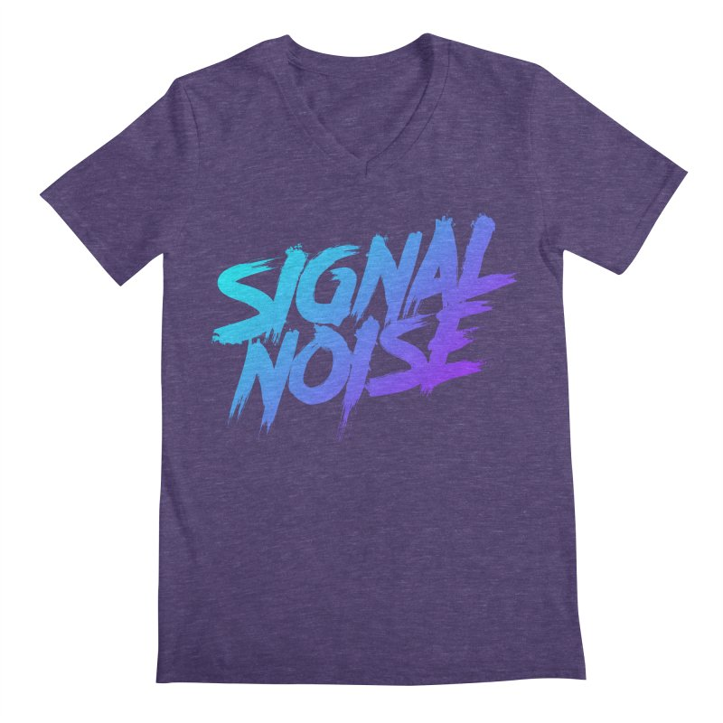 Signalnoise Rocker Blue Men's V-Neck by Signalnoise Threadless Store