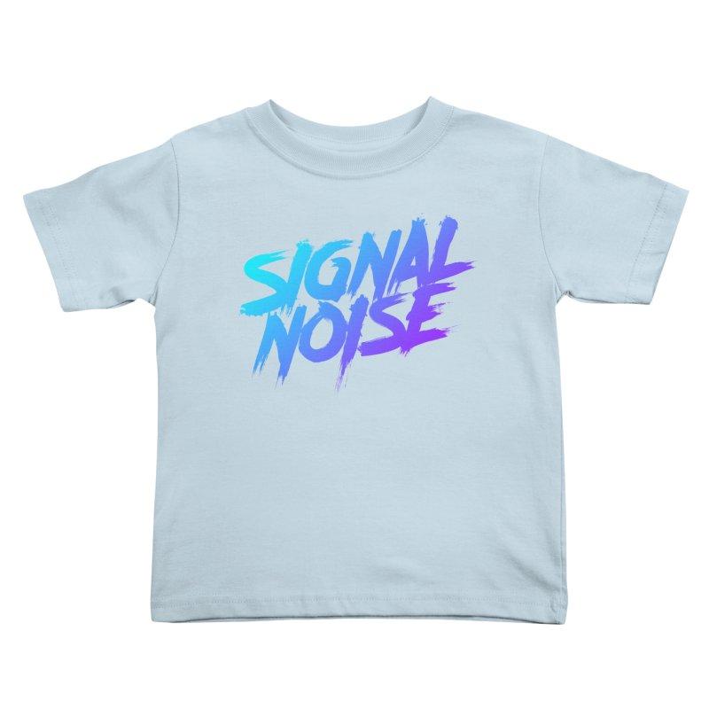 Signalnoise Rocker Blue Kids Toddler T-Shirt by Signalnoise Threadless Store