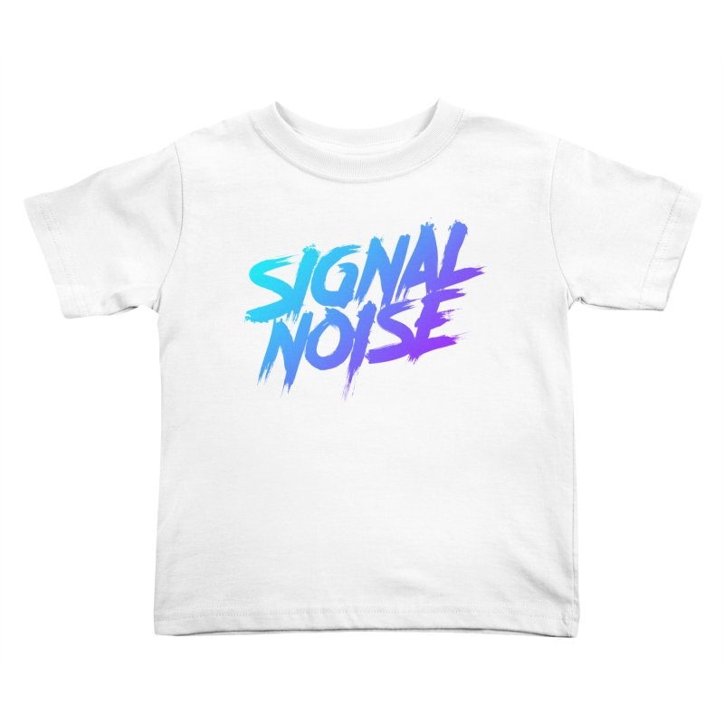 Signalnoise Rocker Blue Kids Toddler T-Shirt by Signalnoise Threadless Store