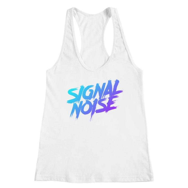 Signalnoise Rocker Blue Women's Tank by Signalnoise Threadless Store