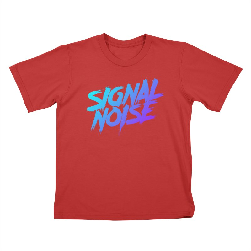 Signalnoise Rocker Blue Kids T-Shirt by Signalnoise Threadless Store