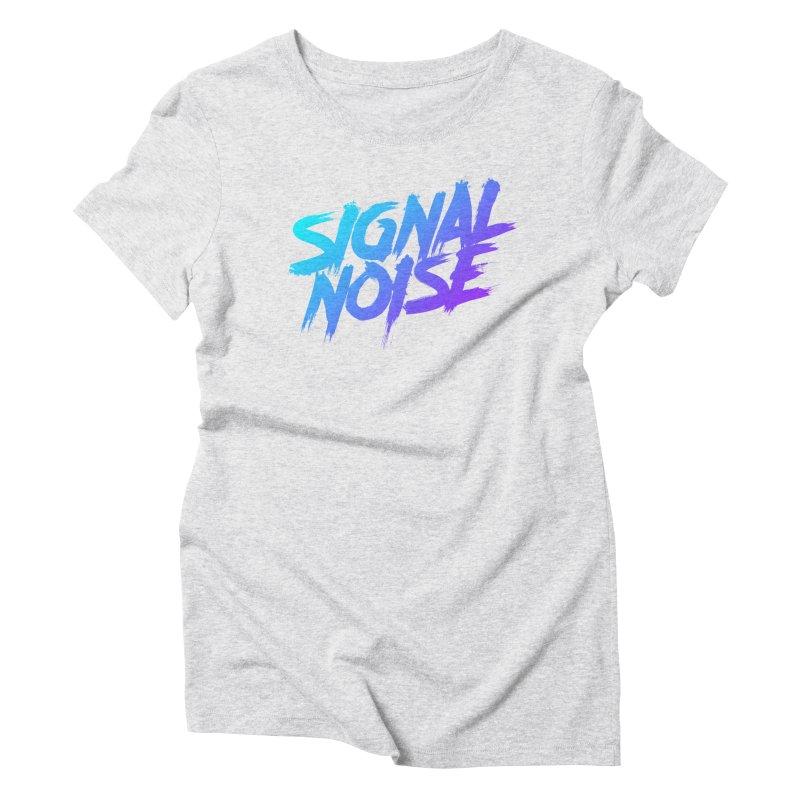 Signalnoise Rocker Blue Women's T-Shirt by Signalnoise Threadless Store