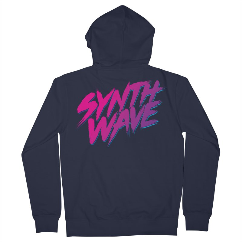 Synthwave Forever Men's French Terry Zip-Up Hoody by Signalnoise Threadless Store