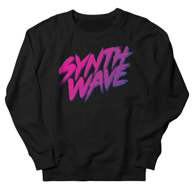 Synthwave Forever Men's French Terry Sweatshirt by Signalnoise Threadless Store