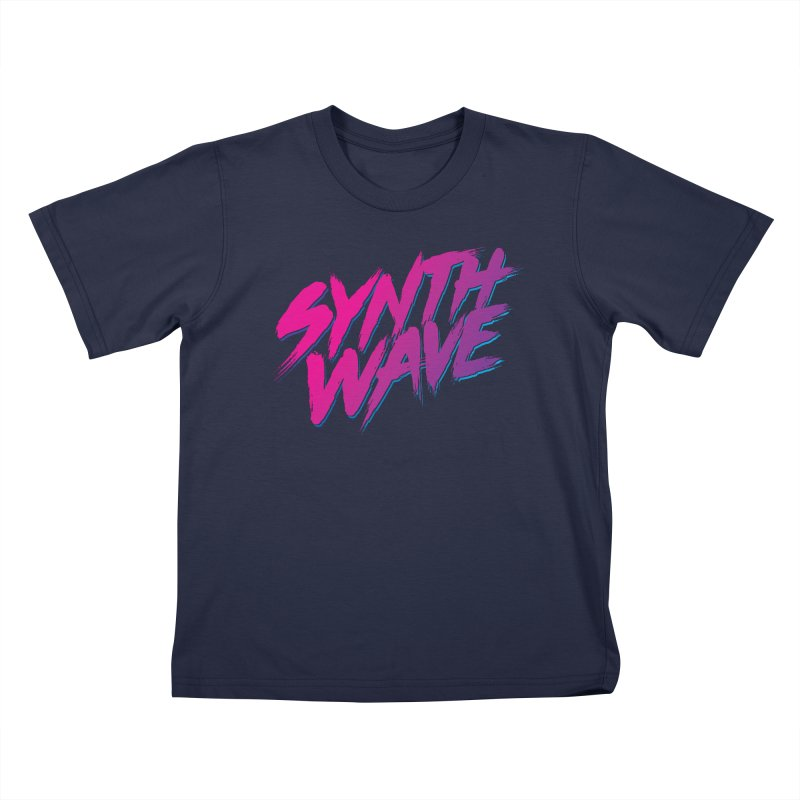 Synthwave Forever Kids T-Shirt by Signalnoise Threadless Store