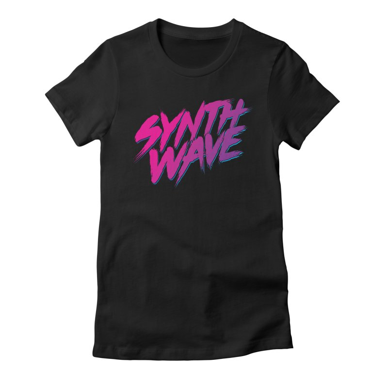 Synthwave Forever Women's T-Shirt by Signalnoise Threadless Store