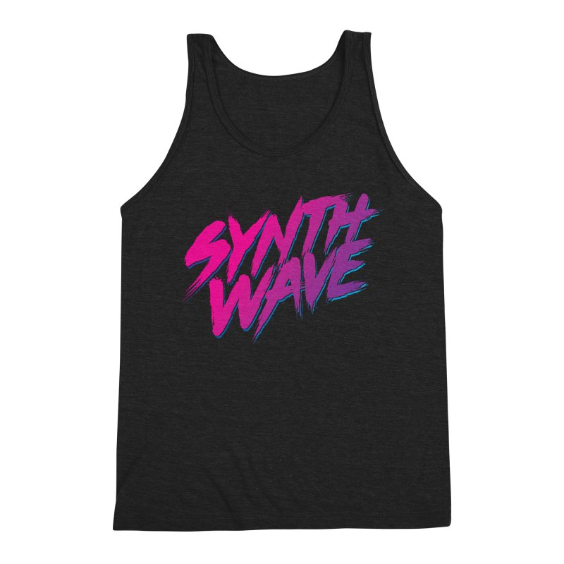 Synthwave Forever Men's Triblend Tank by Signalnoise Threadless Store