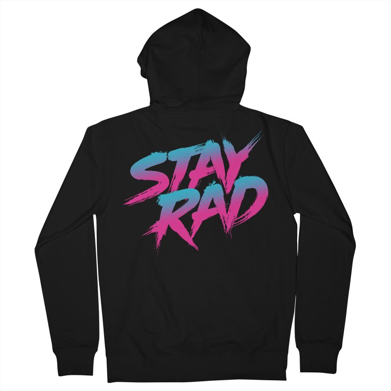 Stay Rad Women's Zip-Up Hoody by Signalnoise Threadless Store
