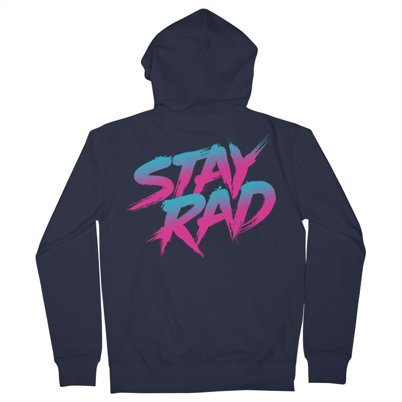 Stay Rad Men's Zip-Up Hoody by Signalnoise Threadless Store