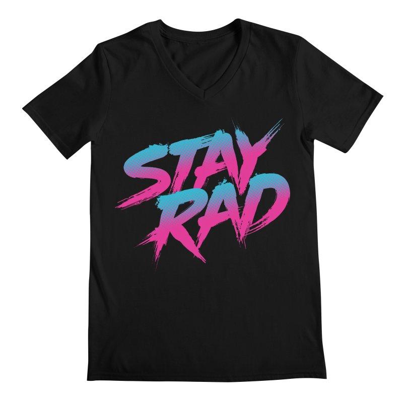 Stay Rad Men's V-Neck by Signalnoise Threadless Store