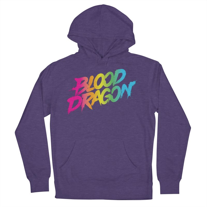 Blood Dragon Women's French Terry Pullover Hoody by Signalnoise Threadless Store