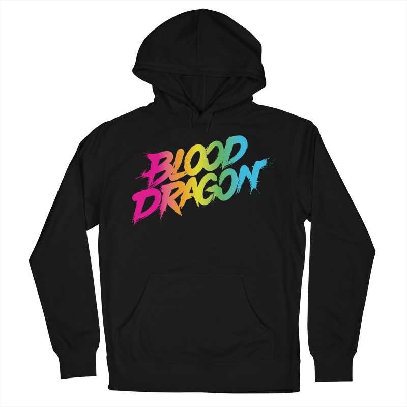 Blood Dragon Men's French Terry Pullover Hoody by Signalnoise Threadless Store