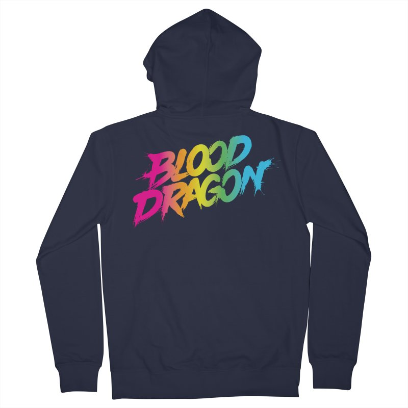 Blood Dragon Women's Zip-Up Hoody by Signalnoise Threadless Store