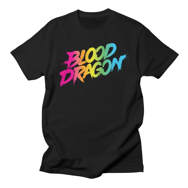 Blood Dragon Men's T-Shirt by Signalnoise Threadless Store