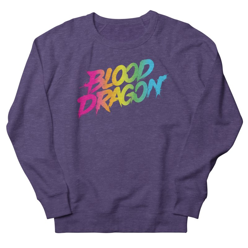 Blood Dragon Women's French Terry Sweatshirt by Signalnoise Threadless Store