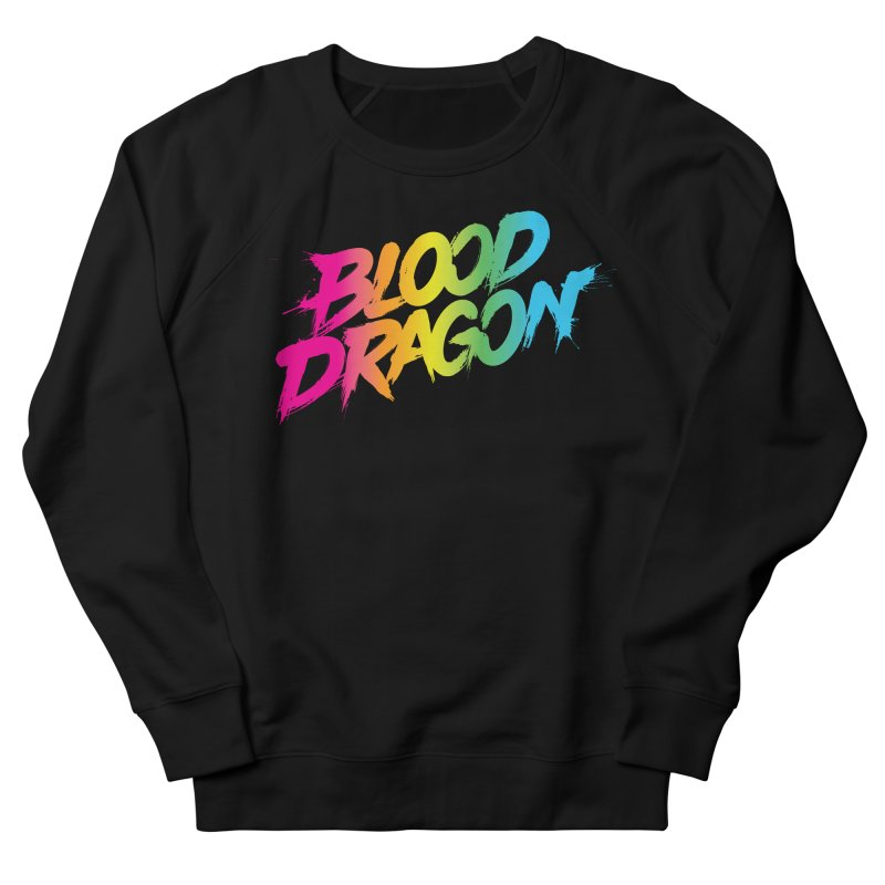 Blood Dragon Men's French Terry Sweatshirt by Signalnoise Threadless Store