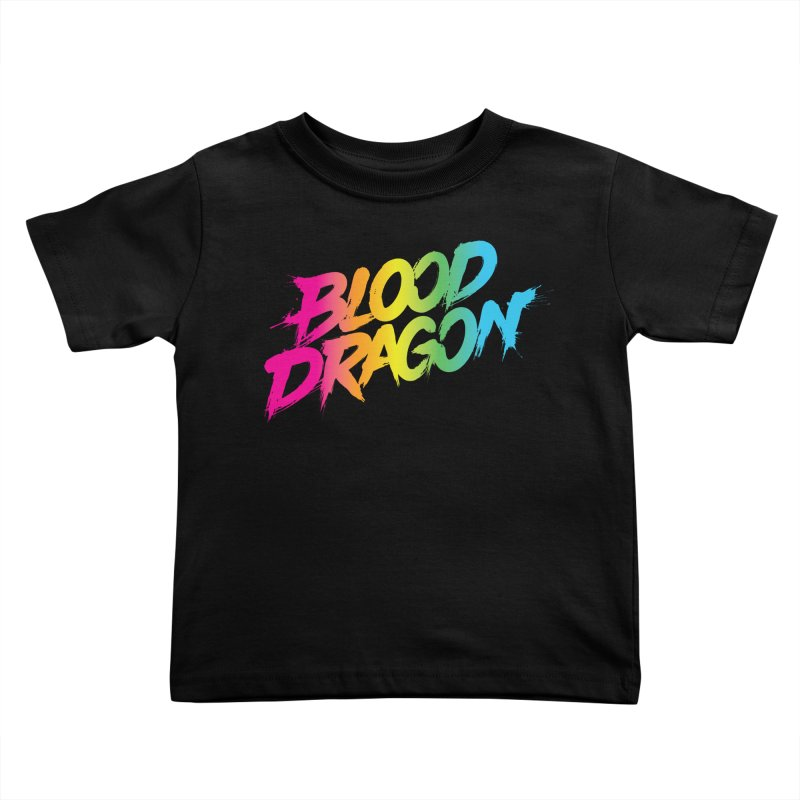 Blood Dragon Kids Toddler T-Shirt by Signalnoise Threadless Store