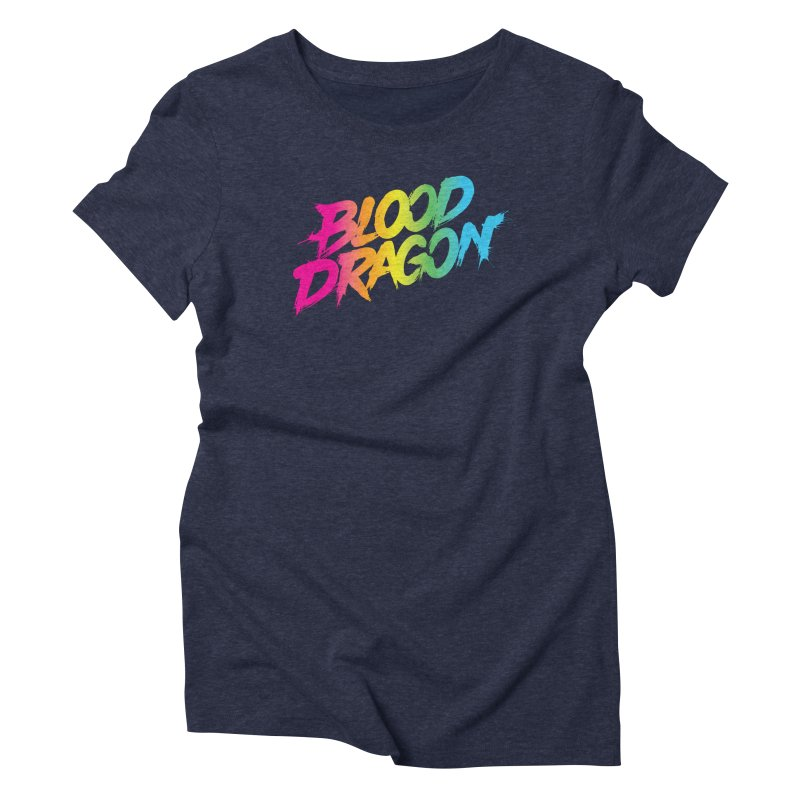 Blood Dragon Women's Triblend T-Shirt by Signalnoise Threadless Store