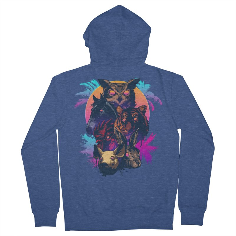 Hotline Miami Men's Zip-Up Hoody by Signalnoise Threadless Store